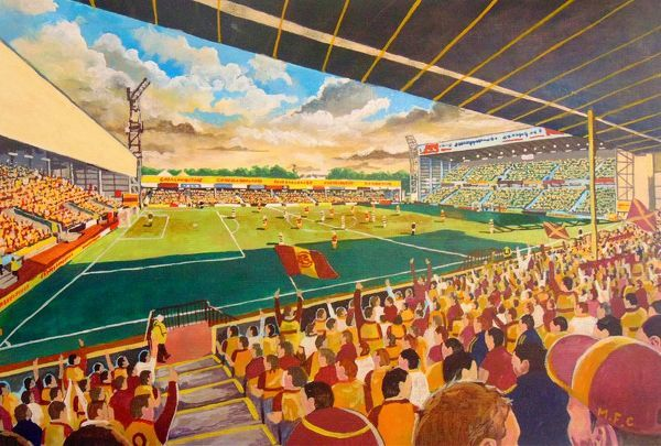 Fir Park Stadium Fine Art - Motherwell Football Club