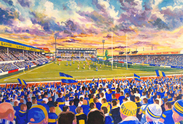Headingley Carnagie Stadium Fine Art - Leeds Rhinos Rugby League