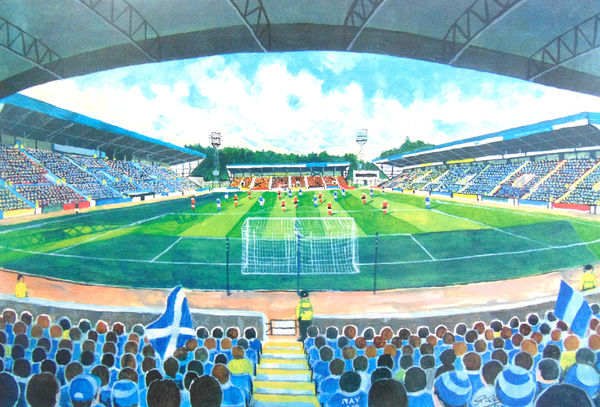 McDiarmid Park Stadium Fine Art - St Johnstone Football Club