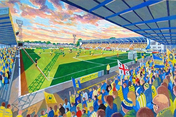 Plainmoor is an association football stadium located in the Plainmoor suburb of Torquay, Devon, England. Since 1921, the stadium has been the home of Torquay United Football Club, who currently compete in the National League South, the sixth tier of English football