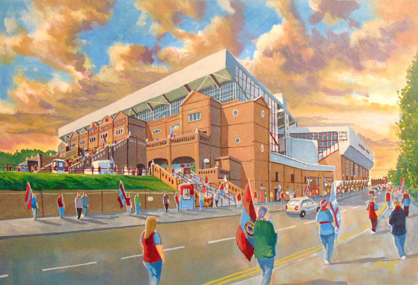 Villa Park Stadium 'Going to the Match' - Aston Villa FC
