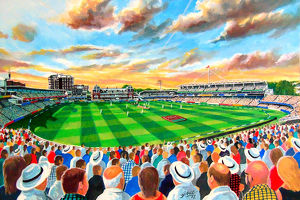 stadia england/lords cricket ground fine art middlesex ccc